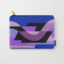 SUISSE - Art Deco Modern: BRIGHT MIDNIGHT Carry-All Pouch