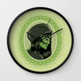 Elphaba Wall Clock