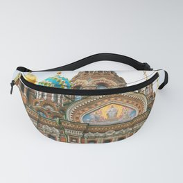 St Petersburg Russia Church Fanny Pack