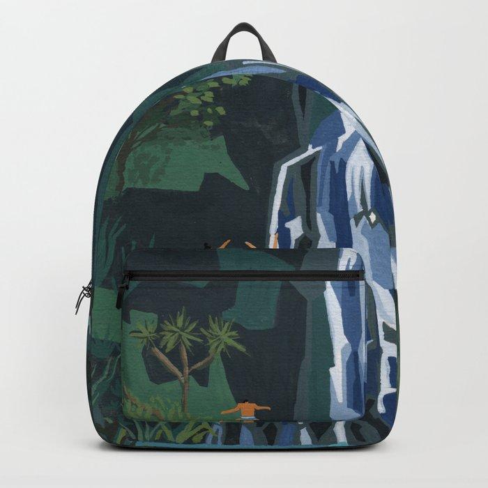 Waterfall stop Backpack