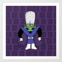 jojo Art Prints featuring MoJo JoJo  by Twisted Dredz