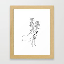 From Me, To You Framed Art Print
