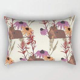 American Prairie Pattern Rectangular Pillow