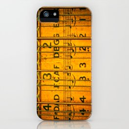 Chords, Notes, & Strings iPhone Case