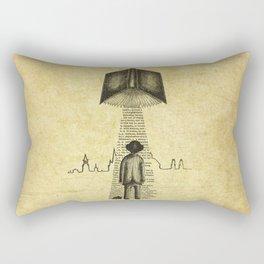 Take Me To Your Reader Rectangular Pillow