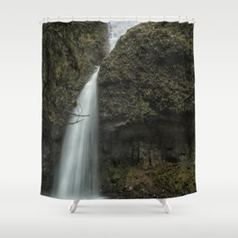 Upper Latourell Falls, No. 1 Shower Curtain