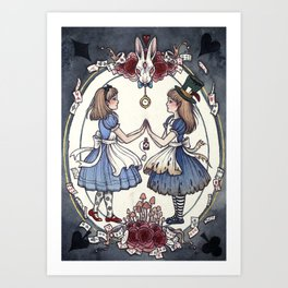 Wonder and Wander Art Print
