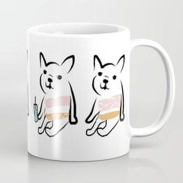 Frenchie Bikini Coffee Mug