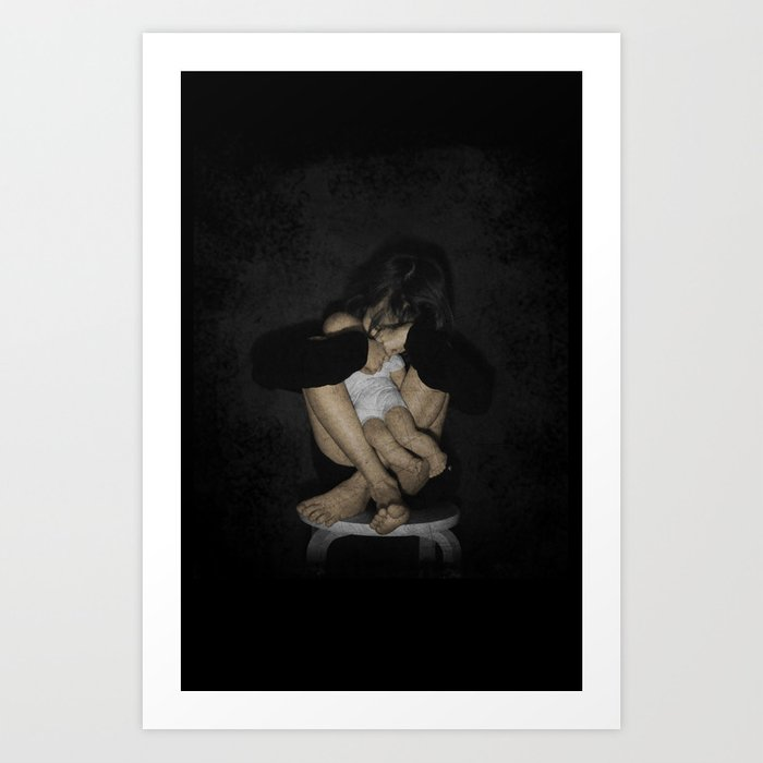Unloved Toy Art Print
