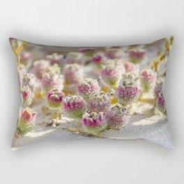 Beach plant / red cactus Fuerteventura Rectangular Pillow