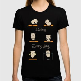 Mochie -Doing every day T-shirt