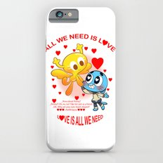 LOVE is all we need - Gumball & Penny iPhone 6s Slim Case