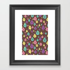 Drops and Drops Framed Art Print