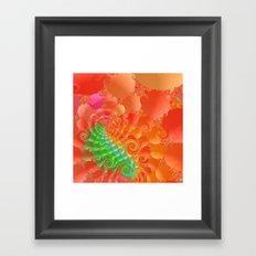 Fractal 107 Framed Art Print