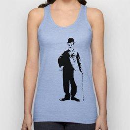Chaplin Unisex Tank Top
