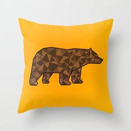 Baloo Honey Bear  Throw Pillow