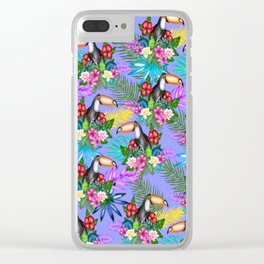 Tucano pattern Clear iPhone Case
