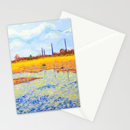View of John Heinz Nature Reserve Pond Stationery Cards