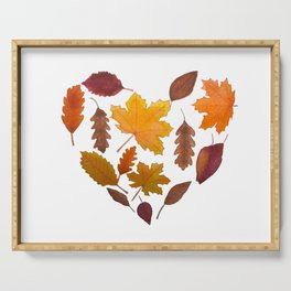 Heart of Fall Serving Tray