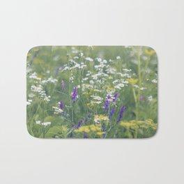 Where the Wildflowers Grow Bath Mat