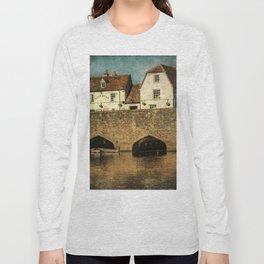 The Bridge At Abingdon Long Sleeve T-shirt
