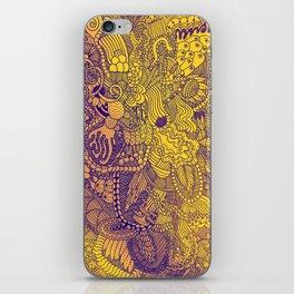 The Underbrush Yellow iPhone Skin