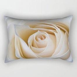 Creamy Rose Rectangular Pillow