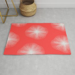 Coral Bust Rug