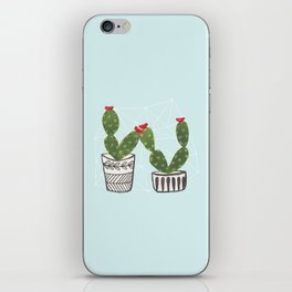 Cacti Love iPhone Skin