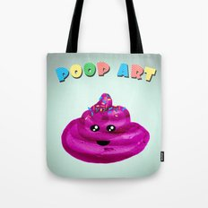 POOP ART Tote Bag
