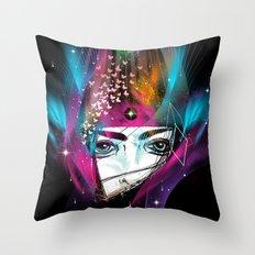 Femina Nebulae Throw Pillow