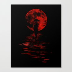 Rainman in Red Canvas Print