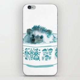 Hedgehog Hot Tub #2 iPhone Skin