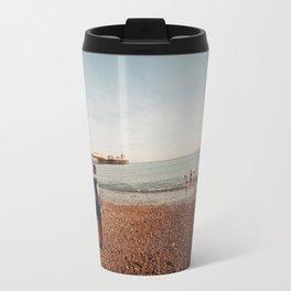 Staring at the Sea #2 Travel Mug