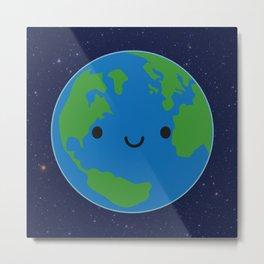 Planet Earth Metal Print