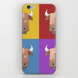 Warhol's Cow iPhone Skin
