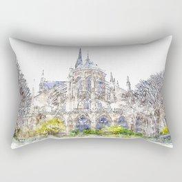 Notre-Dame de Paris Rectangular Pillow
