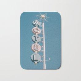 Motel signage Bath Mat