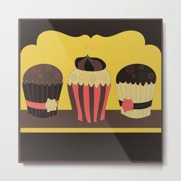 Homemade muffins  Metal Print