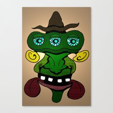 (Just another) Unsophisticated Hillbilly from Outer Space Canvas Print
