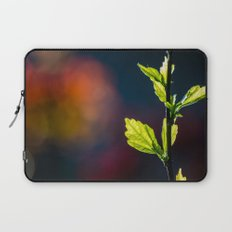 Leaves in a colorful world Laptop Sleeve