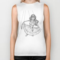 soul Biker Tanks featuring Soul by Fatma Sahem