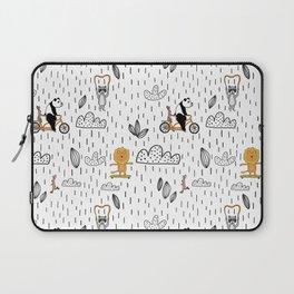 lions, raccoons, panda bears oh my Laptop Sleeve