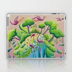 the flamingo world Laptop & iPad Skin