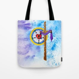 Lutheran Christian Scene Tote Bag