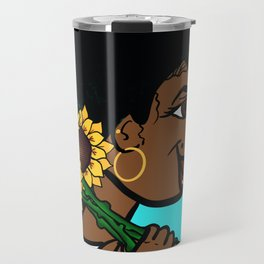 She Carries Beautiful With Her... Travel Mug