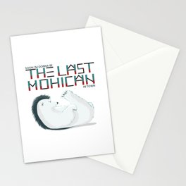 Polar bear The Last Mohican Stationery Cards