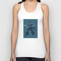 catwoman Tank Tops featuring CATWOMAN by orlando arocena ~ olo409- Mexifunk