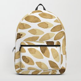 Watercolor brush strokes - neutral Backpack