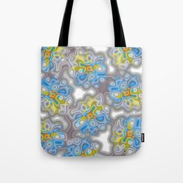 Topography 2 Floral Tote Bag